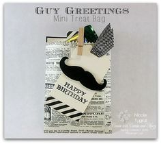 Gy Greetings Mini Treat Bag by nwt2772 - Cards and Paper Crafts at Splitcoaststampers