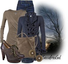 """Evening Sky"" by sassafrasgal on Polyvore"