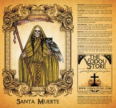 Items similar to Santa Muerte Candle Label - RED on Etsy Santa Muerte Prayer, Rockabilly Decor, Voodoo Hoodoo, Satanic Art, Candle Labels, Prayer Cards, Gods And Goddesses, Book Of Shadows, Monster
