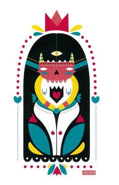 """Totem"" #Print autorizado de @ElyElyIlustra ya disponible en línea…"