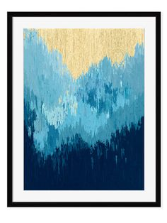 Tidal Wave I by Maxine Price (Framed Giclee) by New Era at Gilt