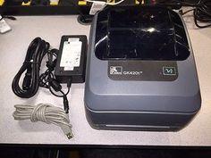 Refurbished Zebra GK420t Direct Thermal/Thermal Transfer Printer GK42-102510-000