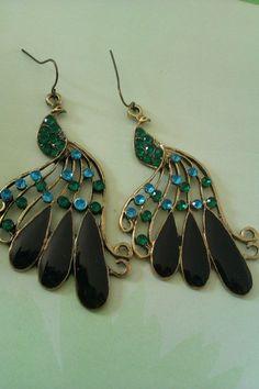 one of my favorites! @Erryn McDaniel peacock earrings !