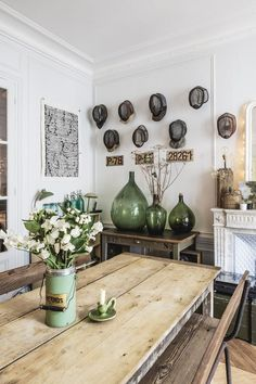 The Mystery Of Scandinavian Kitchen Rustic Swedish Style No One Is Discussing 23 Rustic Kitchen, Kitchen Decor, Kitchen Furniture, Kitchen Tables, Green Kitchen, Design Kitchen, Modern Furniture, Furniture Design, Home Decor Styles