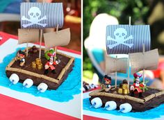 Pirate cake for Agape's 4th birthday.