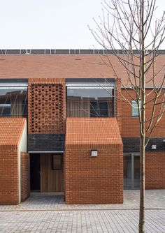 Hargood Close / Proctor and Matthews. Brilliant use of brick.