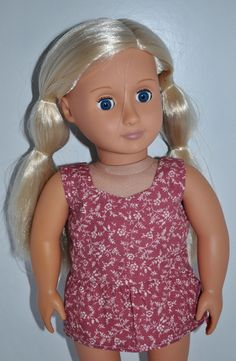 American Girl Doll Our Generation Journey Girl 18  Doll Clothes Peplum Top only $7.00 from Sew Nice Dolls Clothes and Accessories
