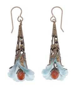 Tutorial - How to: Dusty Bloom Earrings Project | Beadaholique
