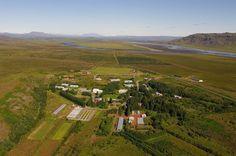 Sólheimar, una ecoaldea sostenible en el corazón de Islandia.