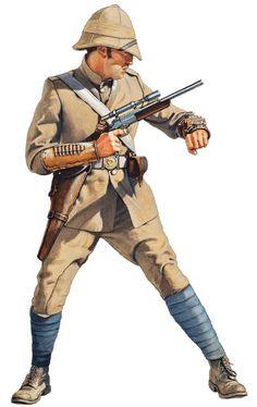 Steampunk: Major - The Royal Berkshire Regiment