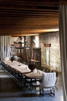 Italy villa dining room | Friuli Venezia Giulia