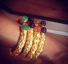 Paula Mendoza jewelry/Aurore Bangles