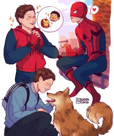 Spider-Man: Homecoming by @bloominflowers
