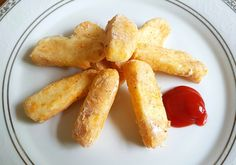 Halloumi Fries (serves 2) - The Fat Foodie