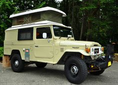 Toyota Land Cruiser pop top