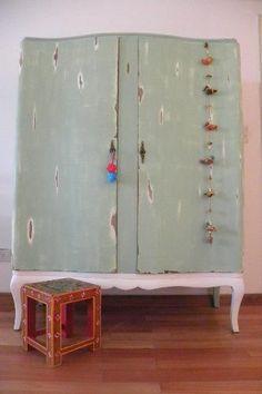 Reciclar muebles vintage buscar con google decoraci n for Como reciclar un placard