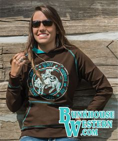 New Cowgirl Tuff Tops Western Store, Cowgirl Tuff, Hooded Sweatshirts, Hoodies, Jean Top, Country Outfits, Graphic Sweatshirt, My Style, Lady