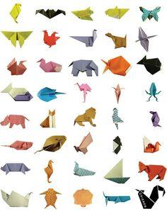 Origami animals!  https://www.facebook.com/origama.portugal