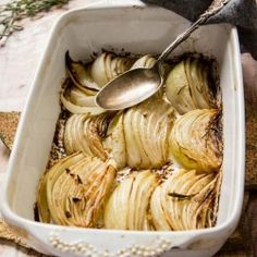 Balsamic Butter Braised Onions