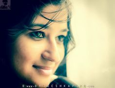 LOVINGLY CAPTIVATING SMILE KAAJAL EYED CHIC PIC BY BRIJESH KAPOOR