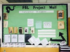 PBL Project Wall