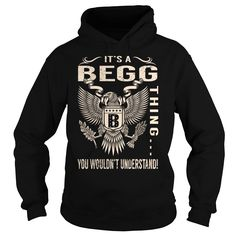 Its a BEGG Thing You Wouldnt Understand - Last Name, Surname T-Shirt (Eagle)