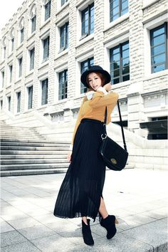 just bought this skirt - inspiration on ways to wear it!