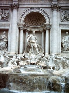 Trevi fountain ...one of my favorite places