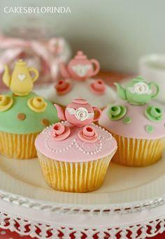 Cupcakes para o Chá...