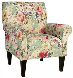 Paisly chair would like the legs to be light wood.