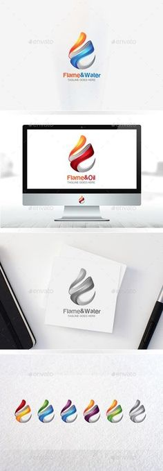Buy Flame Logo / Water Drop / Oil Logo / Fire Logo / Logo Templates by Hafiz_Designers on GraphicRiver. Flame Logo / Water Drop / Oil Logo / Fire Logo / Logo Templates high quality graphic in . Letterhead Template, Brochure Template, Logo Templates, Water Drop Logo, Water Logo, 3d Logo, Oil Company Logos, Church Logo, Internet Logo