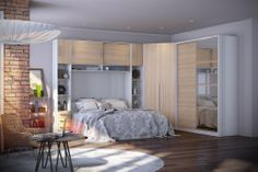 Dormitório com Moveis Modulados