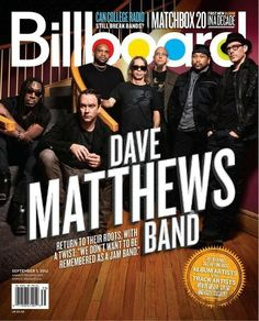DMB on Bilboard August 2012:::Bought it online from Billboard, you can too. $13?