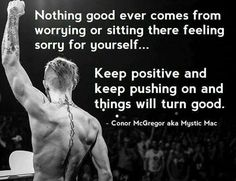Who knew mma could be so inspirational