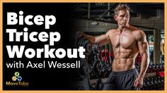 Full 30 minute Bicep and Tricep Gym Workout with NSL Athletic Pro Axel Wessell Alright Movers! Time to get a mega pump on for your biceps and triceps with NSL Pro Axel Wessell. In this 30 minute workout not only will you do reps with Axel but you will learn more about the science of muscle building. Axel will talk you through the appropriate reps and exactly how your muscles will be working. Fill up your water bottle and get ready to WORK! #trainwithaxel…