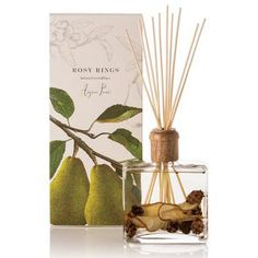 Rosy Rings Botanical Reed Diffuser 13 Oz. - Anjou Pear