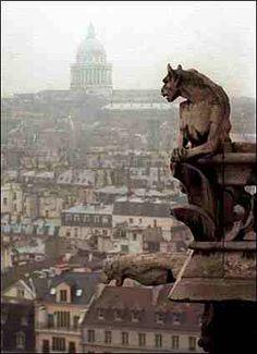 'Gargoyle', Notre-dame (Paris)