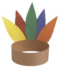 Thanksgiving craft-Could use as a centerpiece with table numbers on it for Friendship Soup.