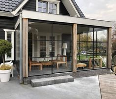 Remodeling Mobile Homes, Home Remodeling, Restoration House, Outdoor Rooms, Outdoor Decor, House Extension Design, Screen House, Enclosed Patio, Pergola Attached To House