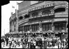Old Comiskey Park...glad I got to see it before they tore it down.