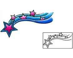 Shooting Star Tattoos Created by Andrea Ale … Shooting Star Drawing, Shooting Star Tattoo, Shooting Stars, Celestial Tattoo, Sanskrit Symbols, Astronomy Tattoo, Venus Symbol, Tattoo Templates, Star Tattoo Designs