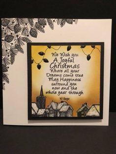 Handmade Christmas, Christmas Ideas, Cardio Cards, Card Io, Clear Stamps, Card Ideas, Christmas Cards, Card Making, Creations