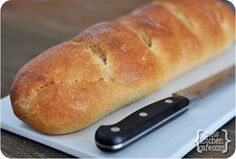 The Best French Bread - seriously, divine soft tender bread    by melskitchencafe #Bread #French