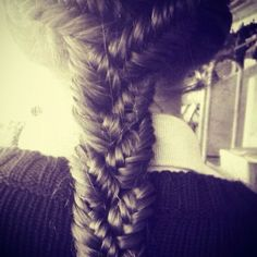 I love braiding hair <3
