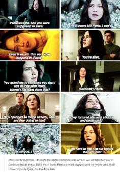 Katniss loves Peeta   Mockingjay Part 2