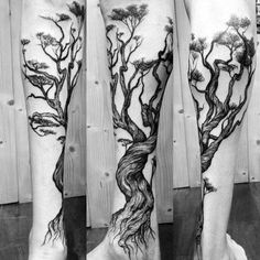 40 tree leg tattoo design ideas for men - rooted ink tattoos Tree Leg Tattoo, Tree Roots Tattoo, Tree Sleeve Tattoo, Arm Tattoo, Trendy Tattoos, New Tattoos, Tattoos For Guys, Cool Tattoos, Tree Tattoos For Men
