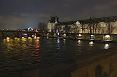 "The Seine photographed using an ""illustration"" filter by Christopher Kimball, Paris, January 2013 - Photo #18"