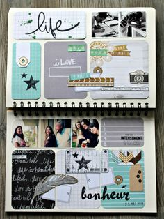 Cute mini-album to document family:
