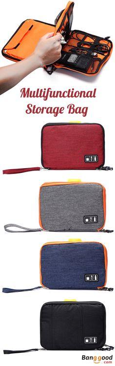 US$18.16 + Free shipping. Casual Bag, Multifunctional Bag, Canvas Bag, Multi-pocket Bag, iPad Bag, Phone Bag, Storage Bag. Material:  Canvas. Color: Black,Grey,Blue,Red. Multipocket Design. Zipper Closure. It Helps Life to be Organized.