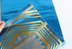 着物の帯リメイク クラッチバッグ | Ludmilan ルドミラン - 手作りのある暮らし - Beach Mat, Outdoor Blanket, Kimono, Card Holder, Wallet, Sewing, Knitting, Clutches, Cards